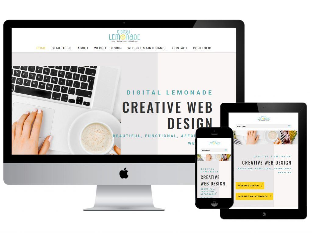 Why your small business needs a website - Digital lemonade