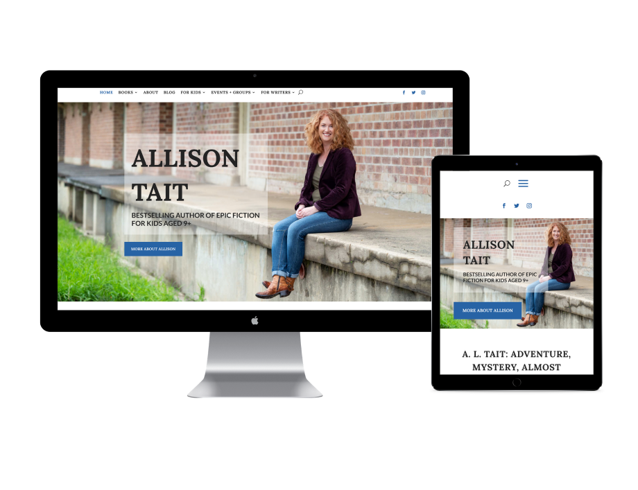 Allison Tait website by digital lemonade