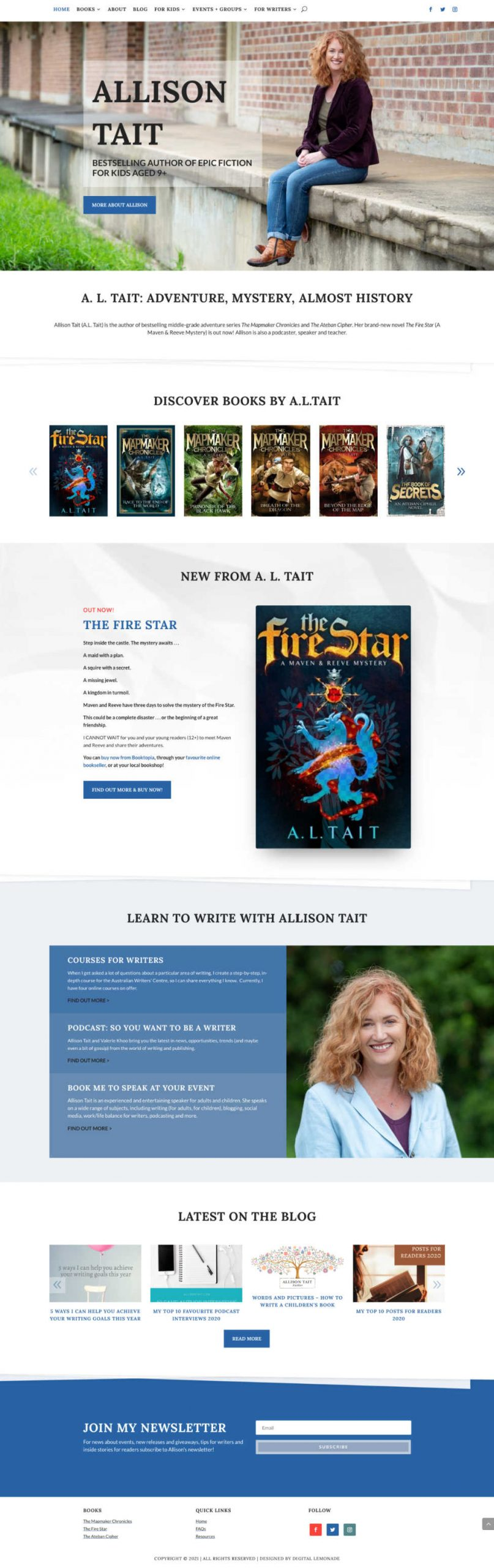 Allison Tait Author website